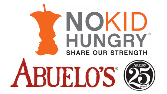 """Abuelos 25th Anniversary - Donations for """"No Hungry Kid"""" Charity image"""